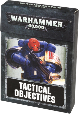WH40K: TACTICAL OBJECTIVES CARDS (DEU)