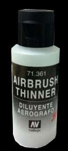 Vallejo Airbrush Verdünner (Thinner) (60ml) -neue Formel-