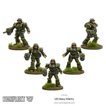 US Heavy Infantry Blister - Konflikt 47