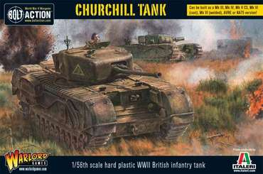 Churchill Tank - Bolt Action