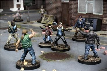 All Out War Core Set - The Walking Dead Miniatures Game – Bild 2