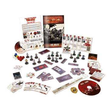 All Out War Core Set - The Walking Dead Miniatures Game