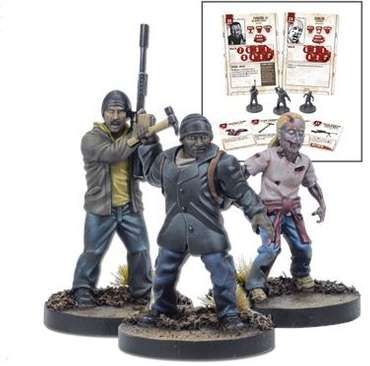 Tyreese Miniatures Booster - The Walking Dead Miniatures Game – Bild 1