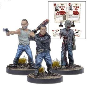 Negan Miniatures Booster - The Walking Dead Miniatures Game