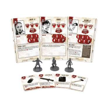 Julie & Chris Miniatures Booster - The Walking Dead Miniatures Game – Bild 2