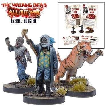 Ezekiel Miniatures Booster - The Walking Dead Miniatures Game – Bild 1
