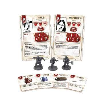 Glenn Miniatures Booster - The Walking Dead Miniatures Game – Bild 2