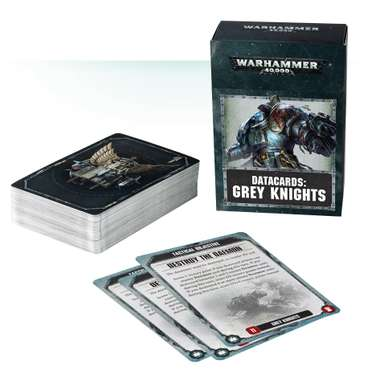 Datacards: Grey Knights (DE)