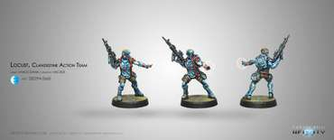 Locust, Clandestine Action Team