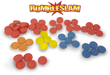 Deluxe Counters & Tokens - Rumbleslam