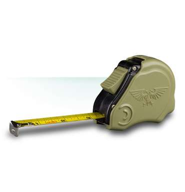 Games Workshop Measuring Tape green
