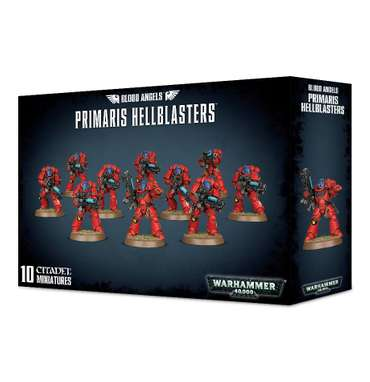 Blood Angels Primaris Hellblasters