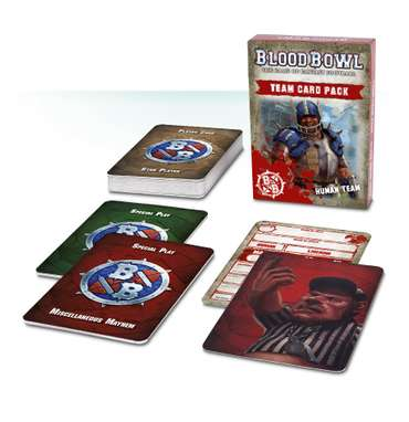 Blood Bowl: Team Card Pack – Human Team (De)