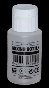 Model Color Mixing Bottle  35ml Skala (empty Bottle)