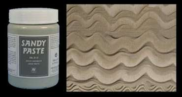 Vallejo Diorama Effects Grey Sand /Texture Sandy Paste (200 ml)