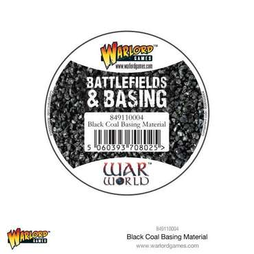 Black Coal Basing Material - Battlefields & Basing