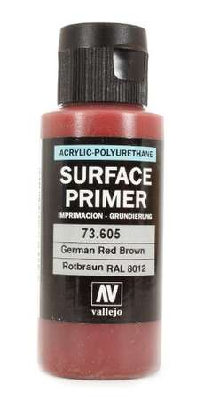 Vallejo Surface Primer Rotbraun RAL8012 (60ml)