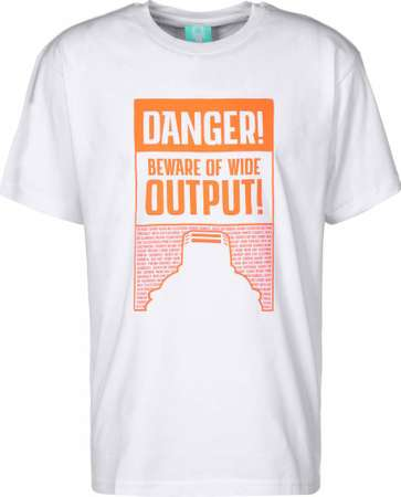 Danger Ultra Wide Shirt - Montana Cans