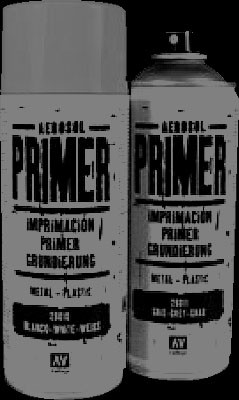 Vallejo Primer Premium Grey (400ml)