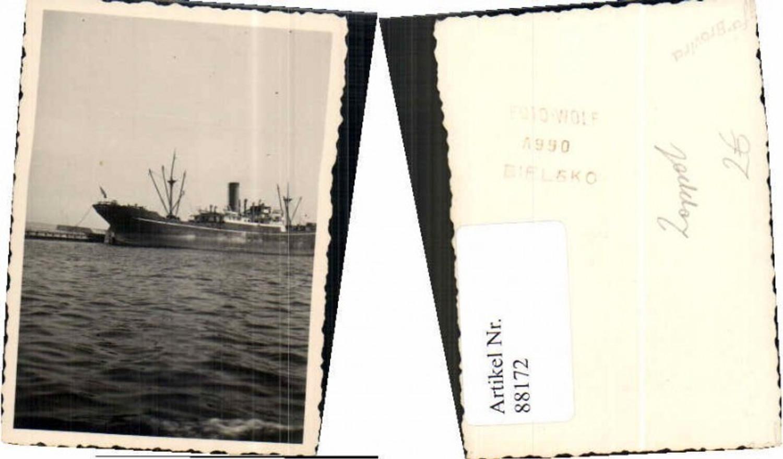 88172,Foto Zoppot Schiff Hafen Danzig Bielsko Atelier günstig online kaufen
