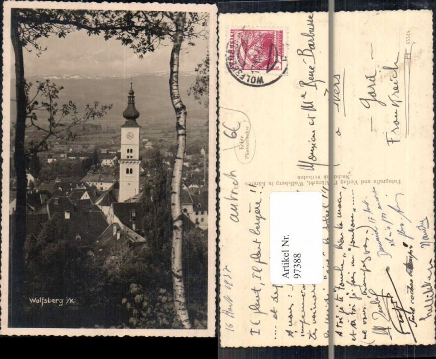 97388,FotoAK Wolfsberg in Kärnten 1937 günstig online kaufen