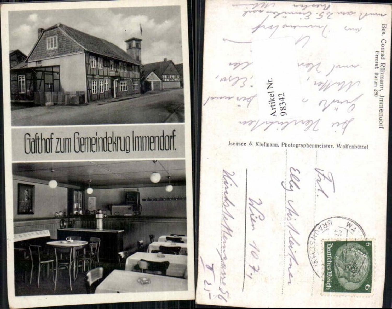 98342,Gasthaus Gemeindekrug Immendorf Salzgitter Wolfenbüttel günstig online kaufen