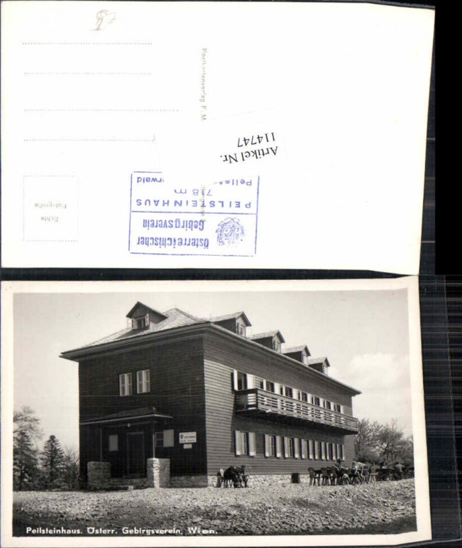 114747,Peilstein Peilsteinhaus Bei Weissenbach A.d