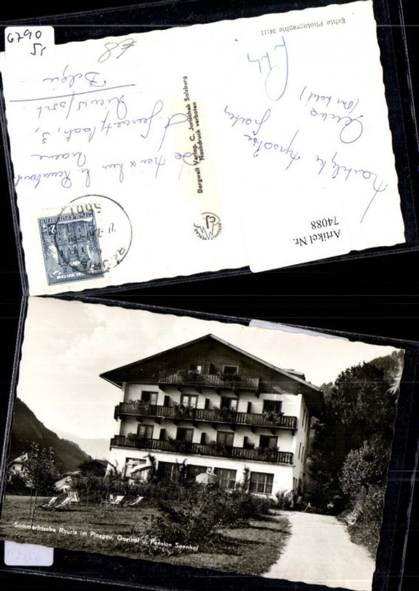 74088,Sommerfrische Rauris im Pinzgau Gasthof Sonnhof Detailansicht günstig online kaufen