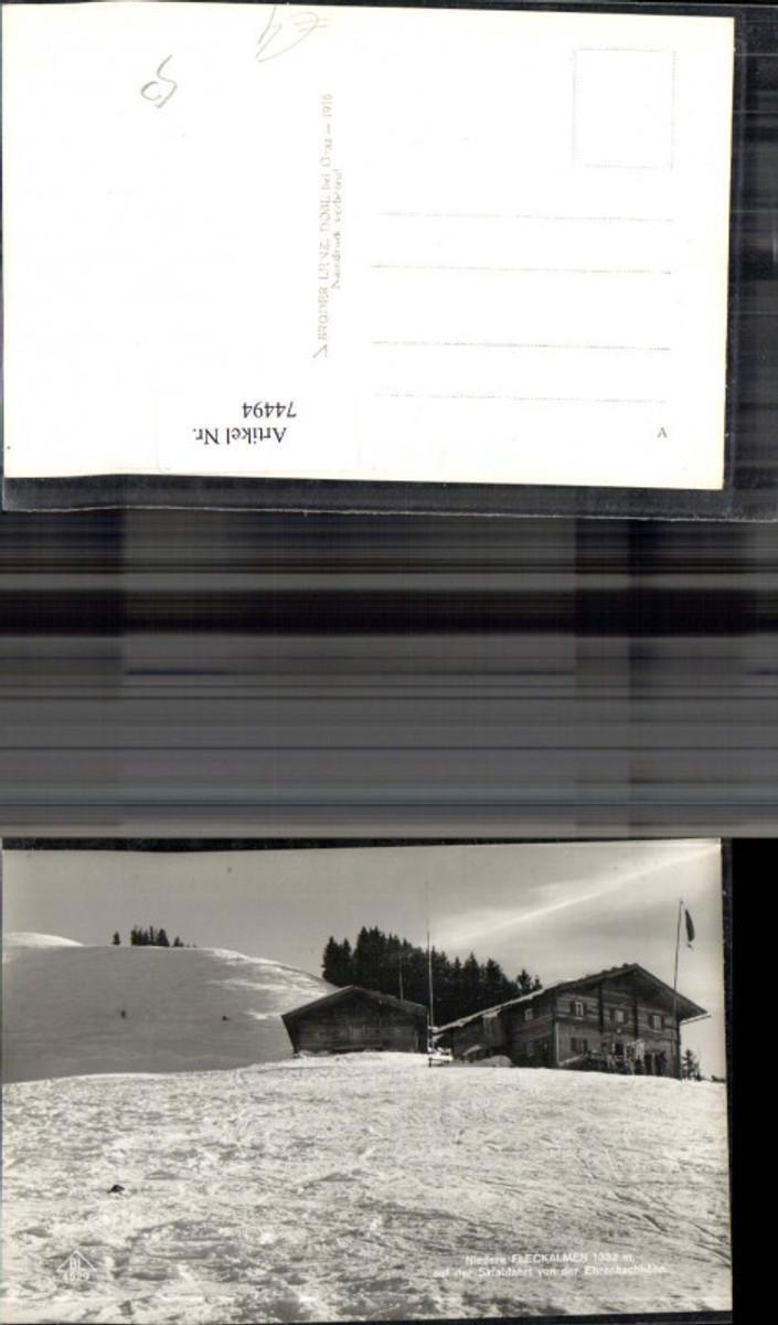 74494,Nieder Fleckalmen Ehrenbachhöhe Hütte Winter  günstig online kaufen