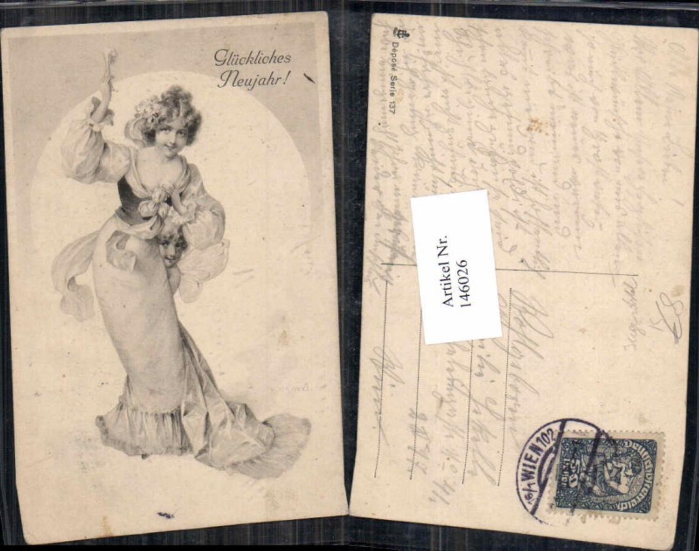 146026,Neujahr Jugendstil Kleid Art Nouveau Edwardian Girl  günstig online kaufen