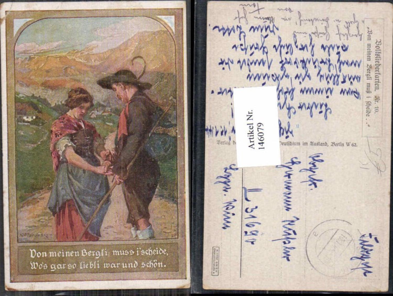 146079,A. Marussig Volksliederkarte 10  günstig online kaufen