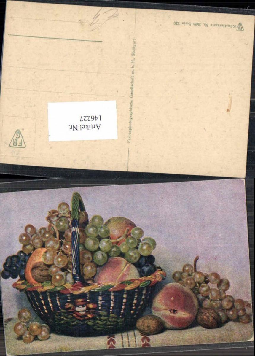 146227,Stilleben Früchte Obst Pfirsich Nüsse Trauben Weintrauben  günstig online kaufen