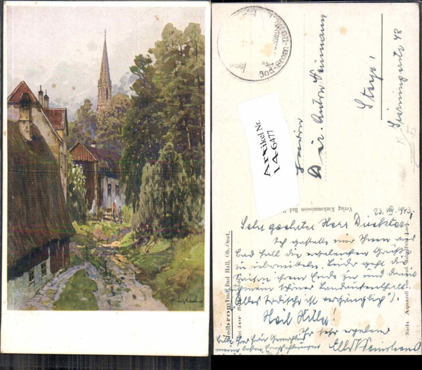 146477,Fritz Lach Bad Hall bei Steyr Bei der Sulzneröde  günstig online kaufen