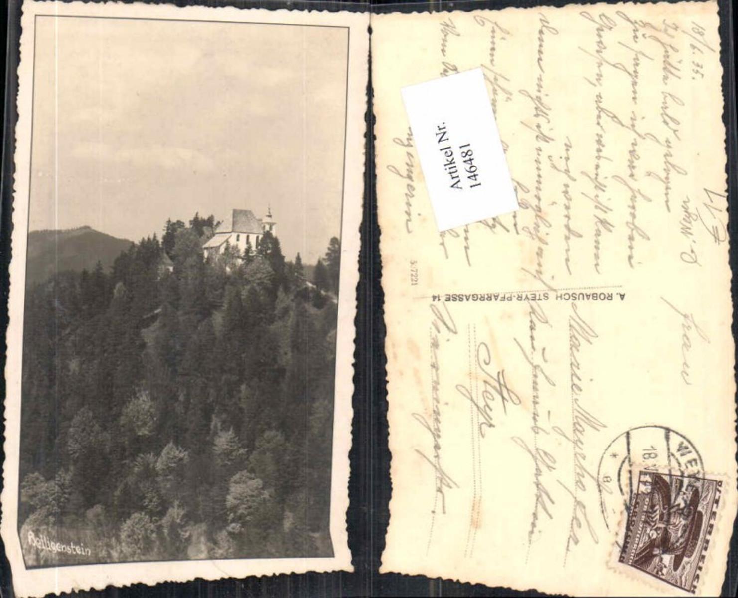 146481,Fotokarte Heiligenstein bei Gaflenz 1930 günstig online kaufen