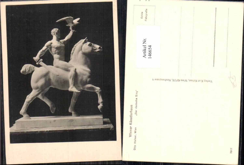 146654,Wiener Künstlerhaus 7817 Otto Hafner Der Deutsche Sieg  günstig online kaufen