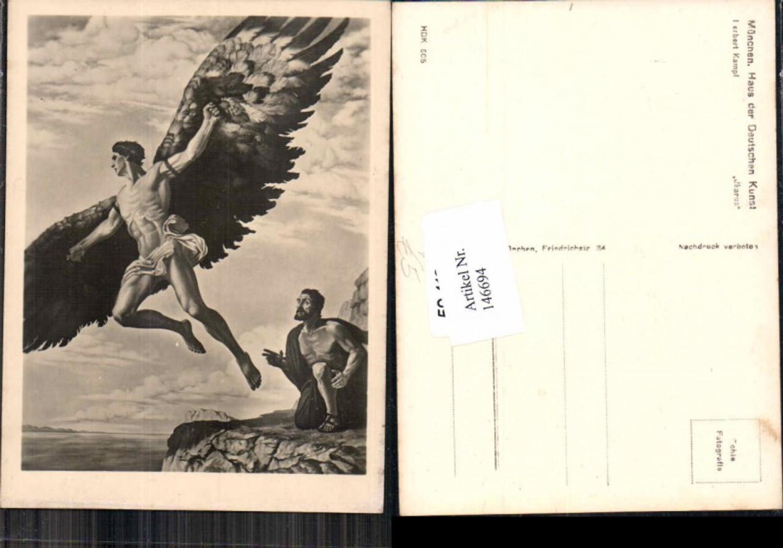 146694,Haus der Deutschen Kunst HDK 505 Herbert Kampf Ikarus  günstig online kaufen