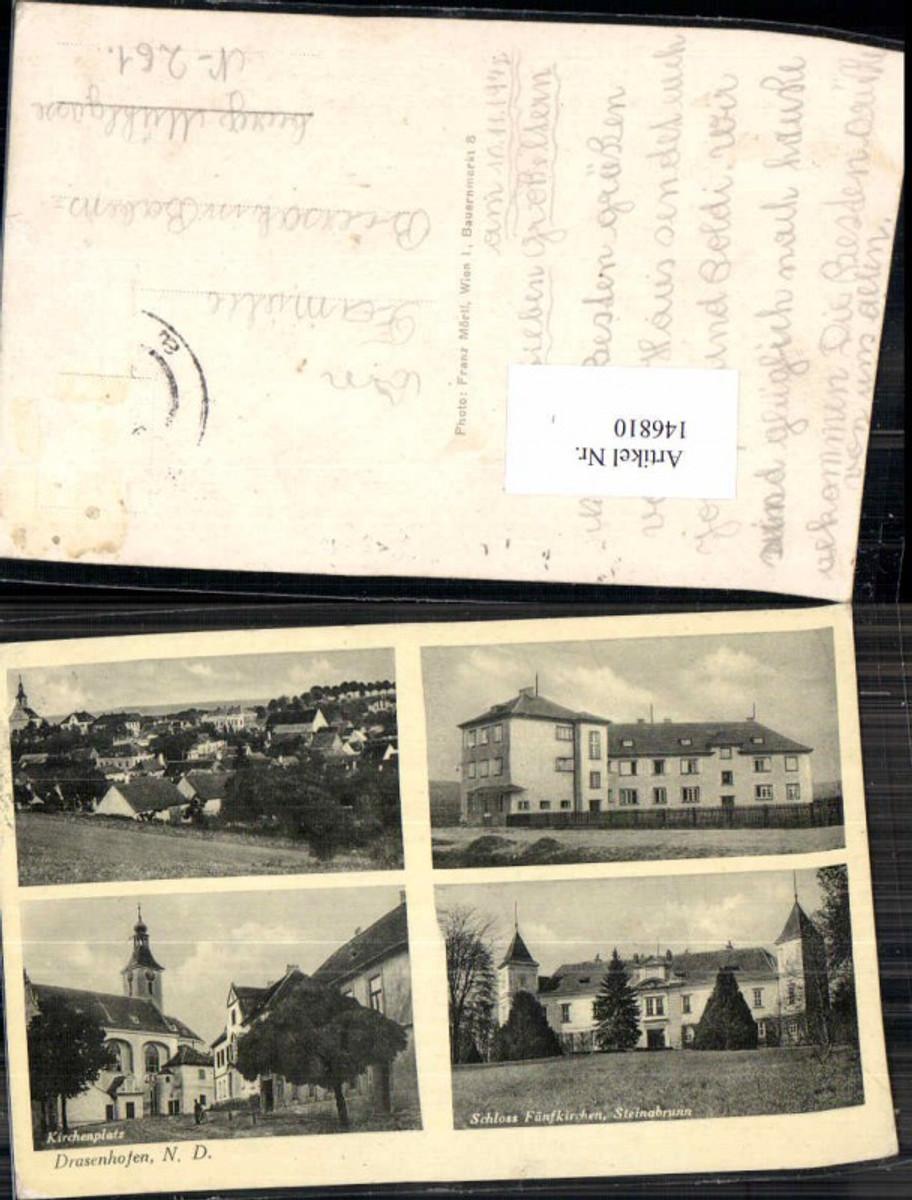 146810,Drasenhofen Schloss Fünfkirchen Steinabrunn  günstig online kaufen