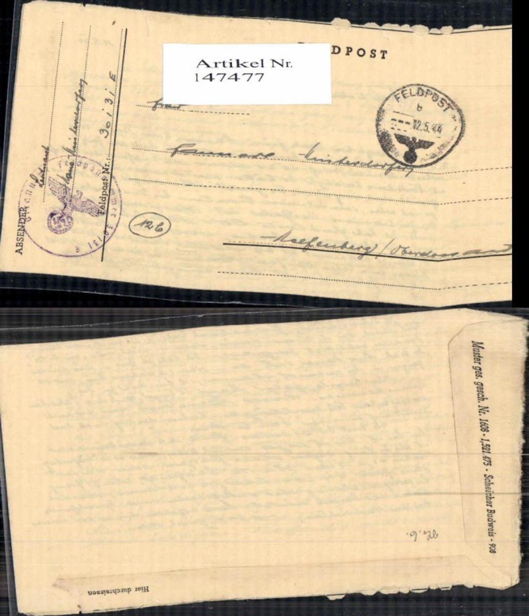 147477,WW2 WK2 Feldpost nach Helfenberg  günstig online kaufen