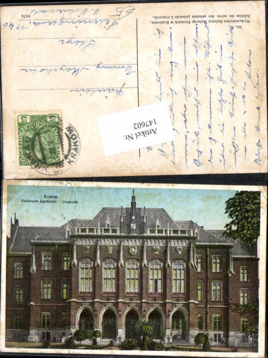 147602,Krakau Krakow Universität  günstig online kaufen