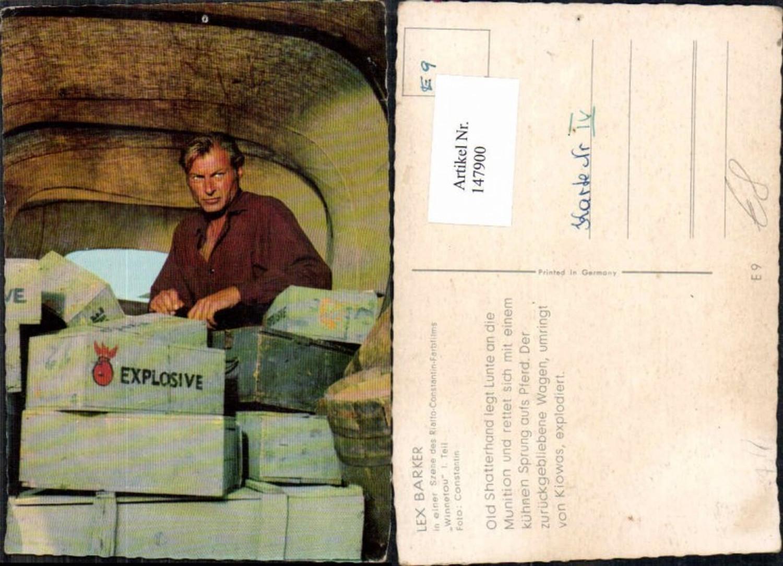 147900,Winnetou Lex Barker Old Shatterhand  günstig online kaufen