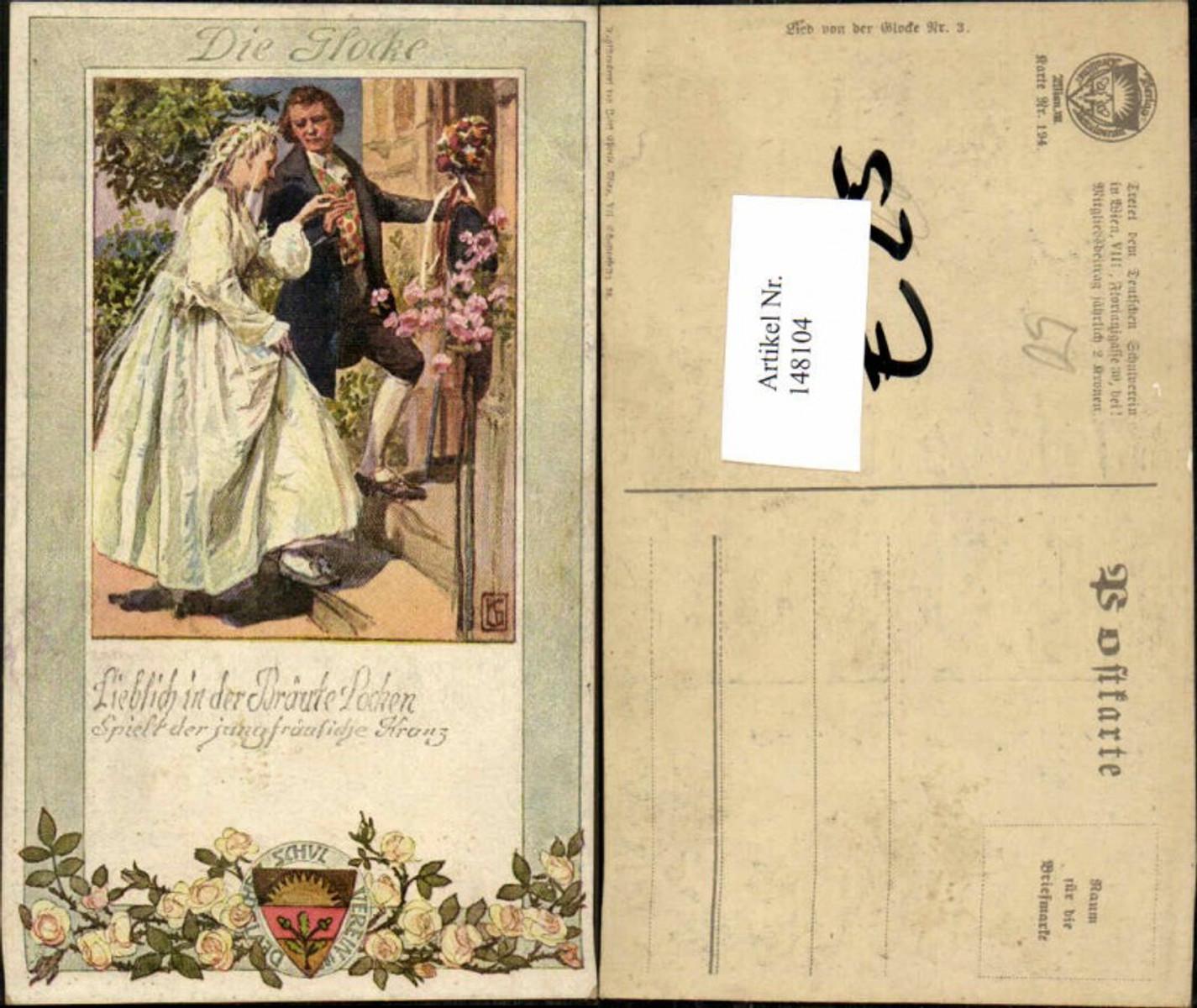 148104,Dt Schulverein 194 Lied v.d. Glocke 3 günstig online kaufen