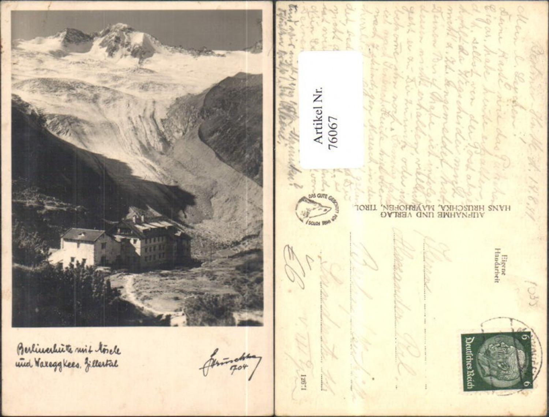 76067,Berlinerhütte Zillertal Ansicht 1941 pub Hruschka Mayrhofen 704 günstig online kaufen