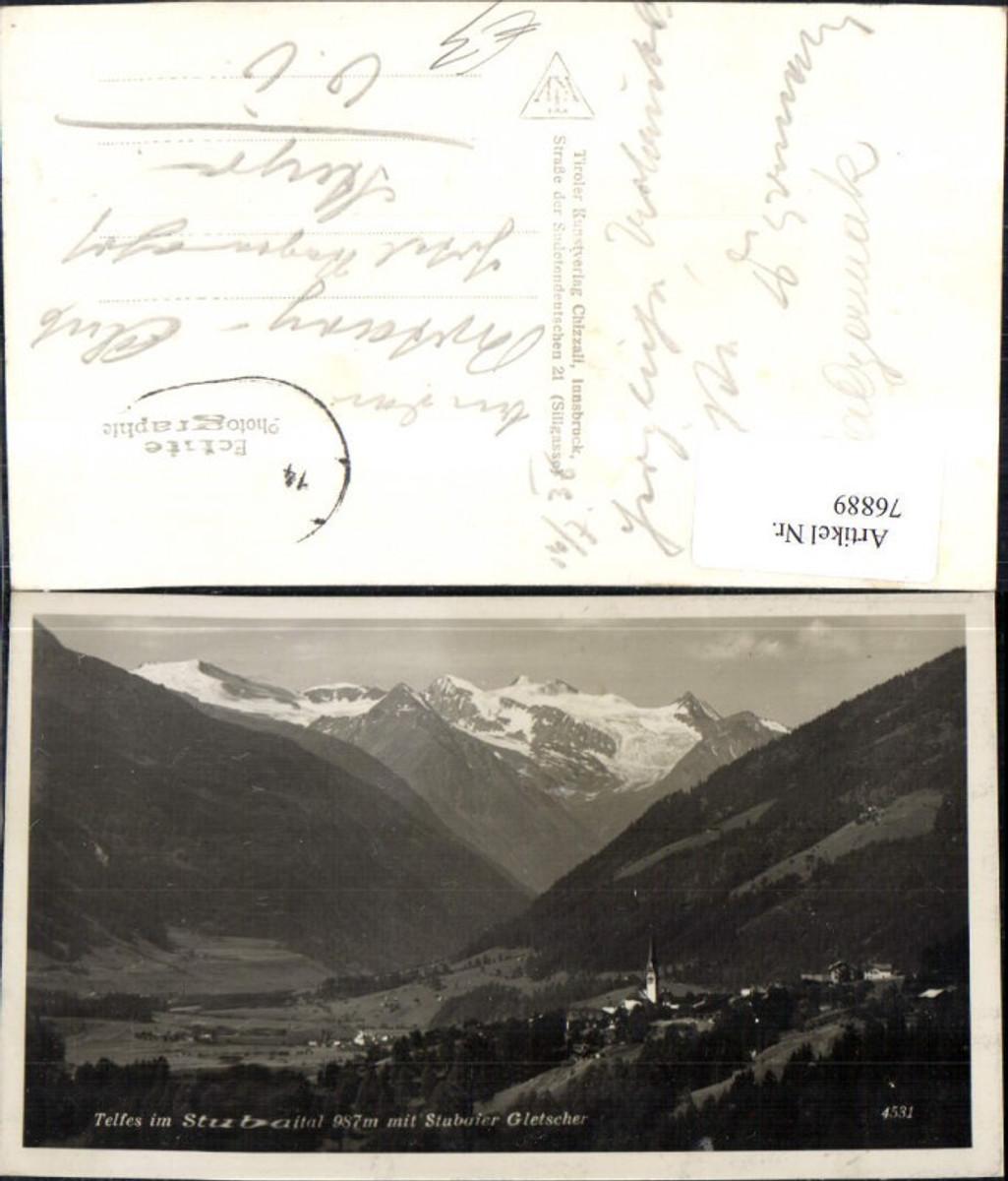 76889,Telfes im Stubaital m. Stubaier Gletscher 1936 günstig online kaufen