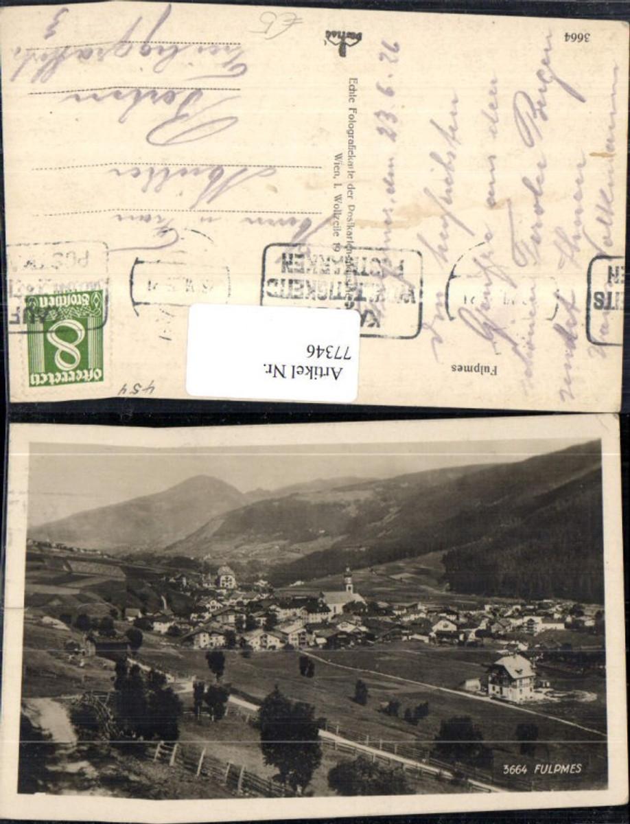 77346,Fulpmes Stubaital Totale 1926 günstig online kaufen