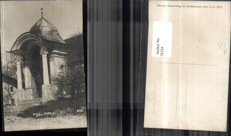 78324,Aus Hall i. Tirol Fotokarte Kapelle  günstig online kaufen