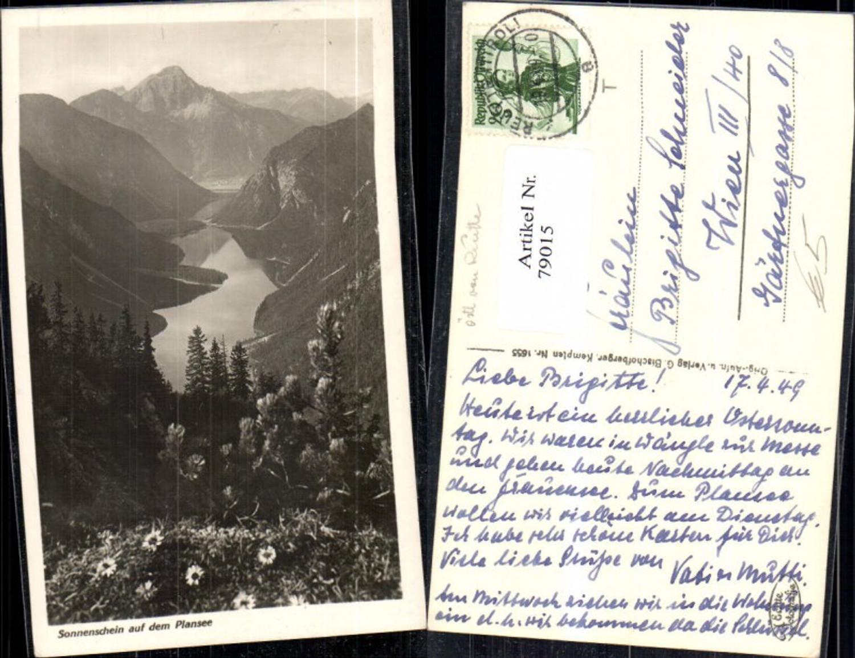 79015,Plansee Totale Nähe Heiterwang Breitenwang Reutte 1949 günstig online kaufen
