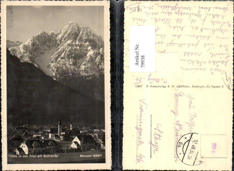 79938,Lienz Ansicht 1936 günstig online kaufen