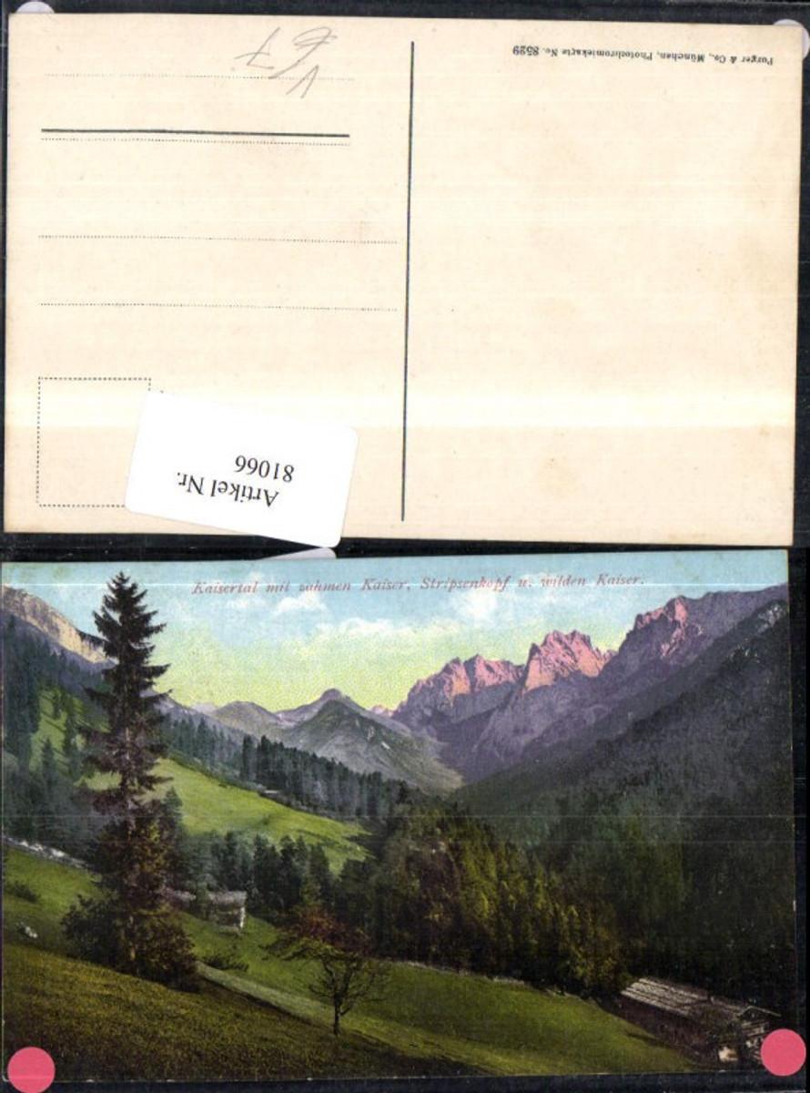 81066,Kaisertal Ansicht mit Bergkulisse pub Purger Co 8529 günstig online kaufen