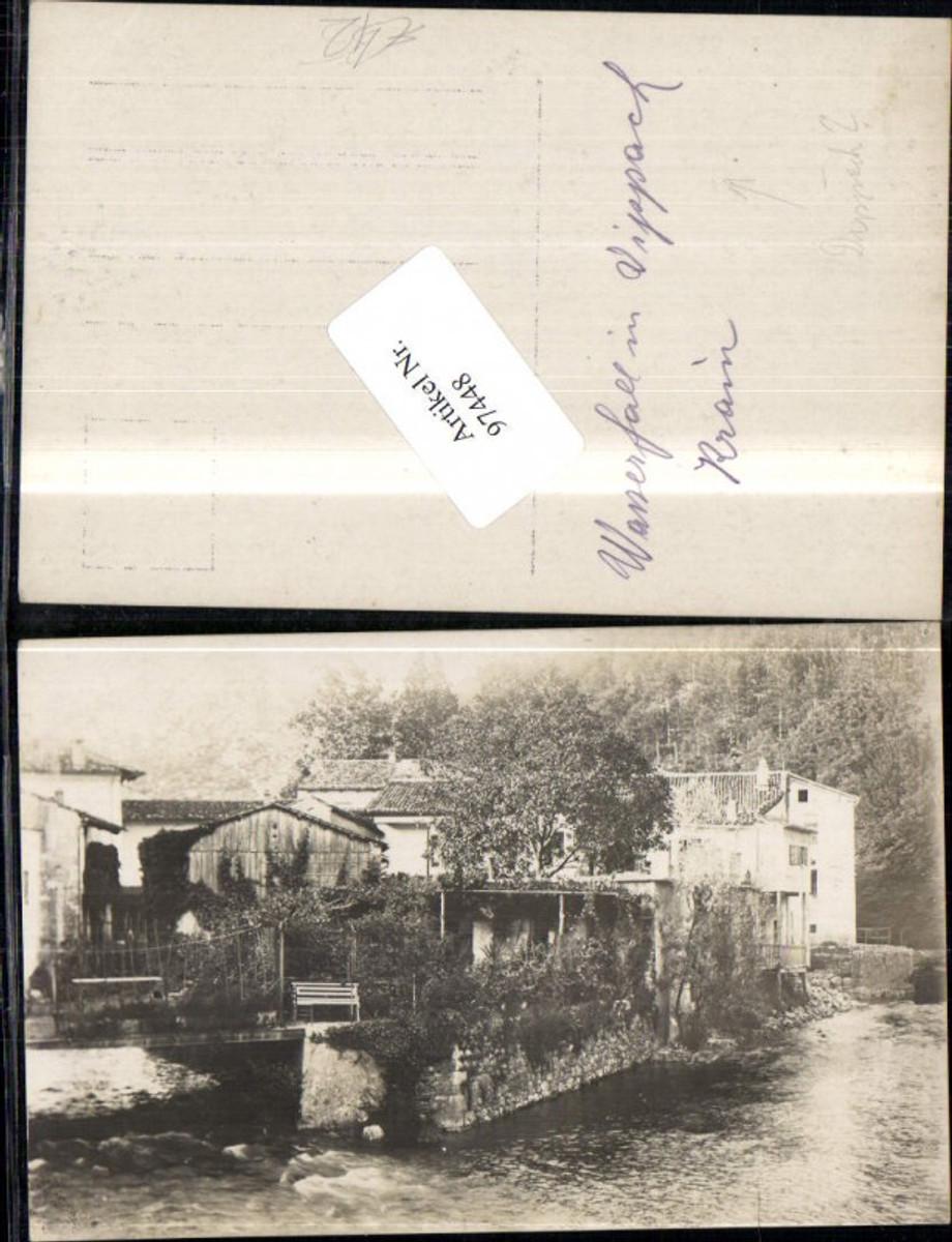 97448,Vippach Postonja Krain Adelsberg Wasserfall  günstig online kaufen