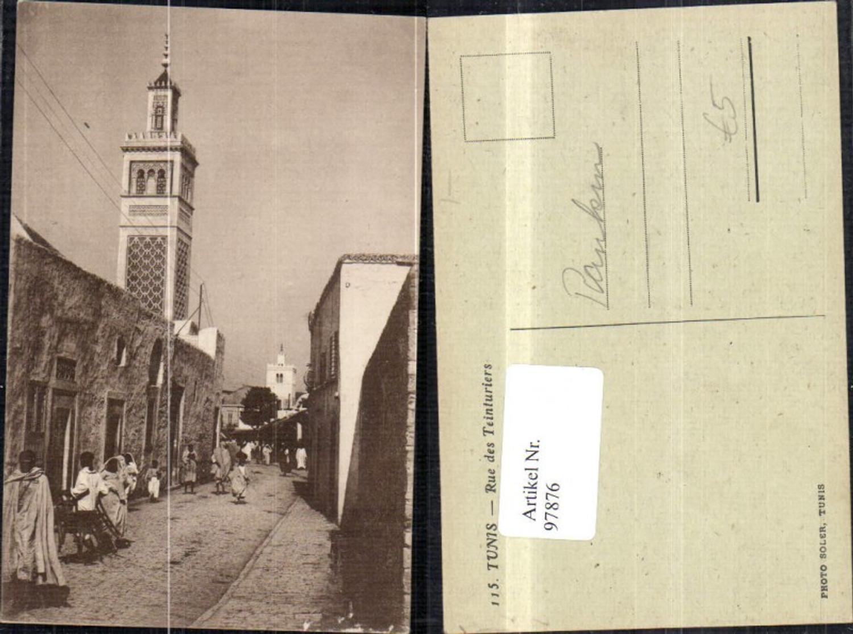 97876,Tunis Rue des Teinturiers Strassenansicht  günstig online kaufen